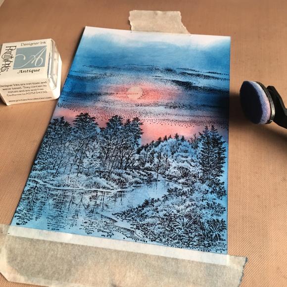 Scenescape Rubber Stamp
