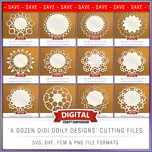 Didi Doiley Cutting File Bundle From Digital Craft Emporium