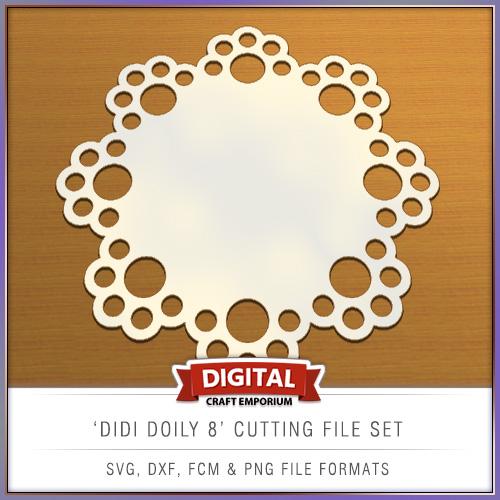 Didi Doily Designs Cutting File - SVG, FCM, DXF