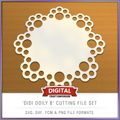 Didi Doily Designs Cutting File - SVG, FCM, DXF