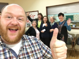 All Counties Craft Challenge Diary - Clackmannan