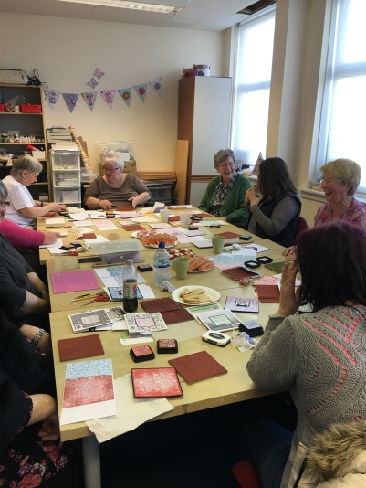 All Counties Craft Challenge Diary - Glasgow