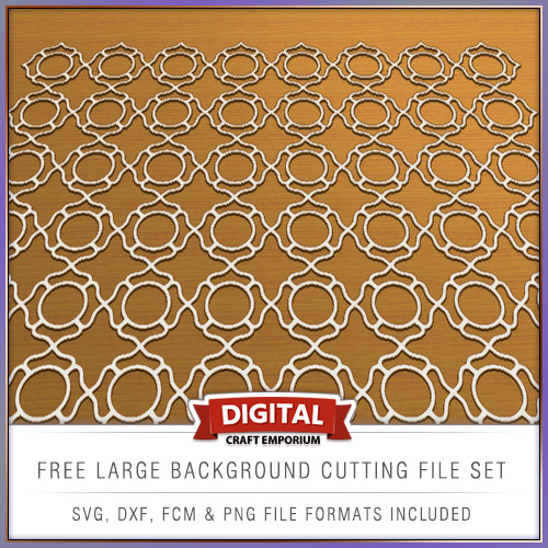Free DXF SVG FCM Cutting File