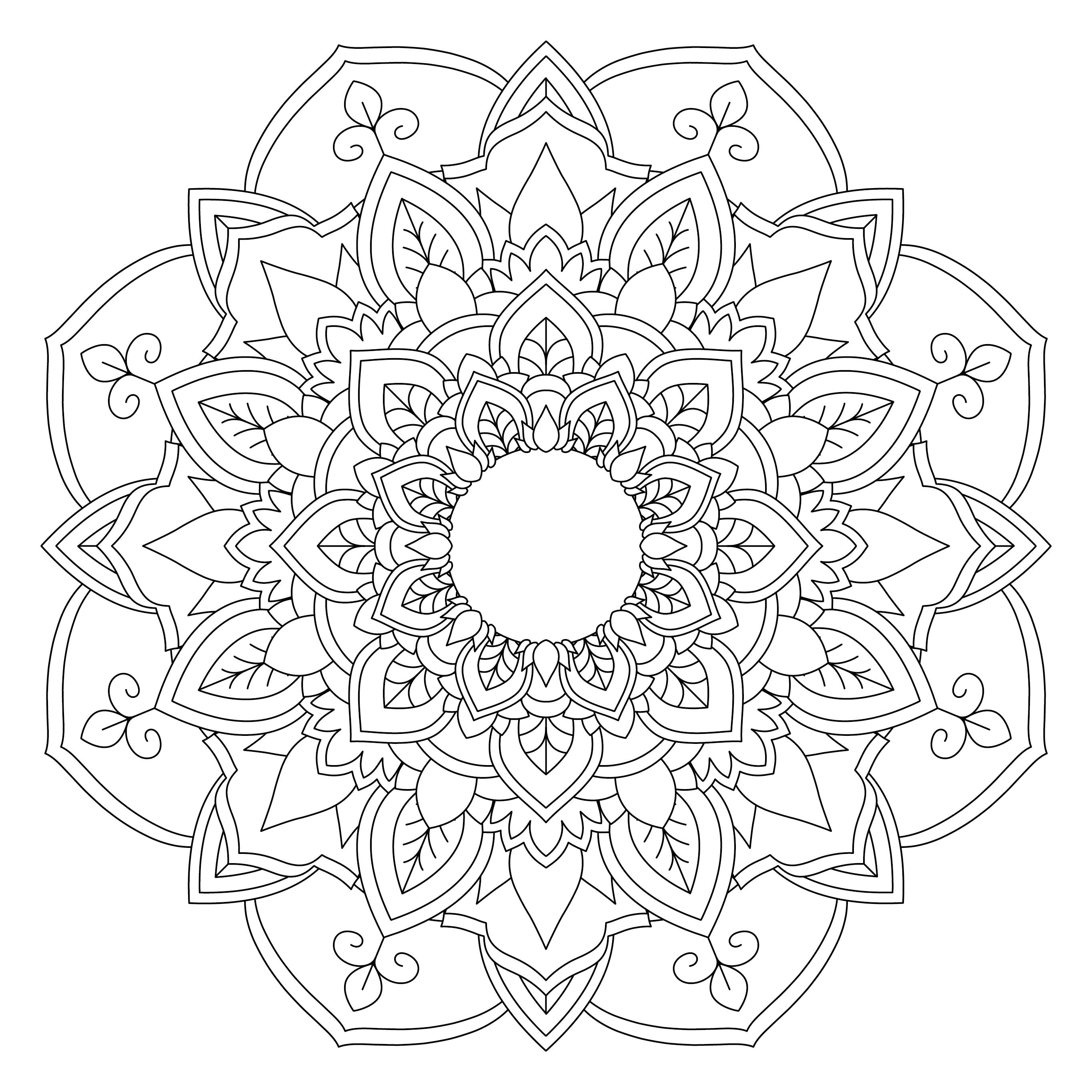 Mandala Monday 2 - Free Download To Colour In « Gentleman ...