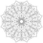 Mandala Monday 3 Free Colouring In Design