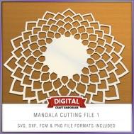 Mandala Cutting File 1