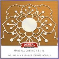 Mandala Cutting File 10