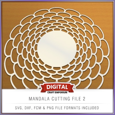 Mandala Cutting File 2