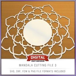 Mandala Cutting File 3