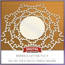 Mandala Cutting File 4