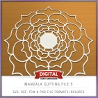 Mandala Cutting File 5