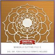 Mandala Cutting File 5