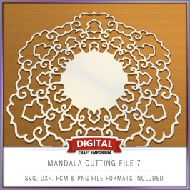 Mandala Cutting File 7