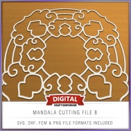 Mandala Cutting File 8