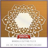 Mandala Cutting File 9