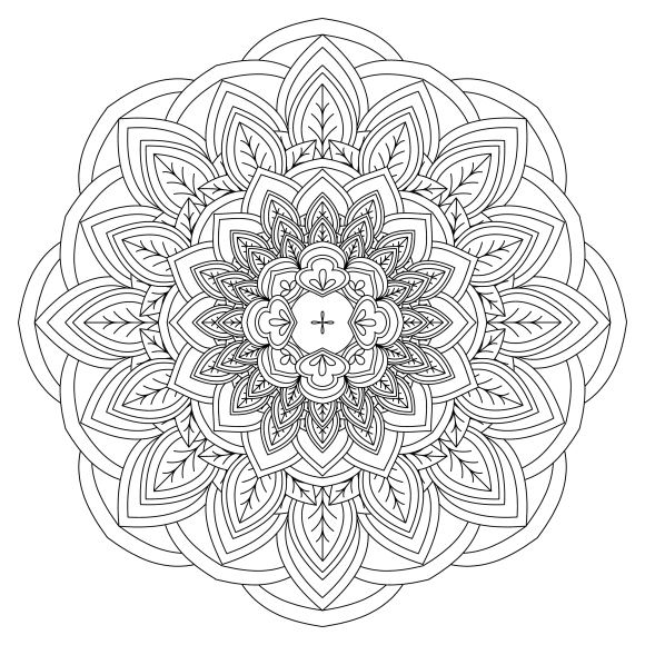 Mandala Monday - Free Download To Colour In