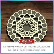 Cathedral Window Cutting File Collection FCM SVG DXF 6