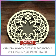 Cathedral Window Cutting File Collection FCM SVG DXF 7