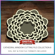 Cathedral Window Cutting File Collection FCM SVG DXF 8