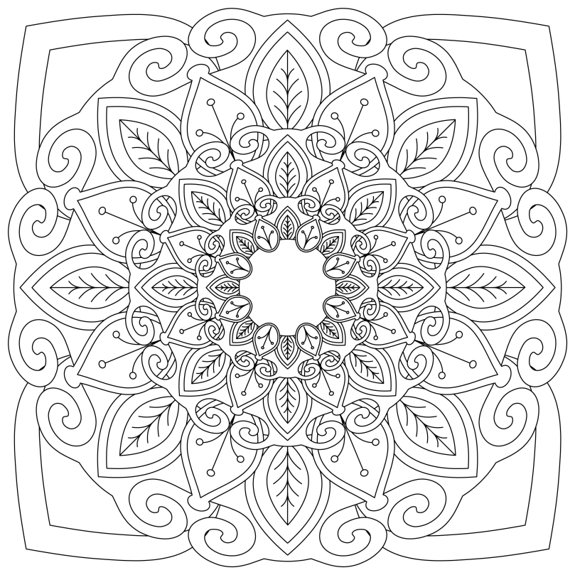 Mandala Monday 10 Free Download To Colour In