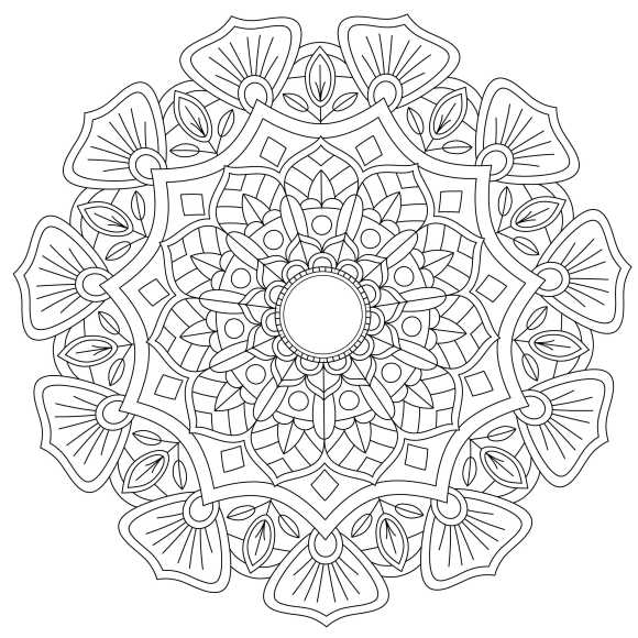 Mandala Monday 8 - Free Download To Colour In