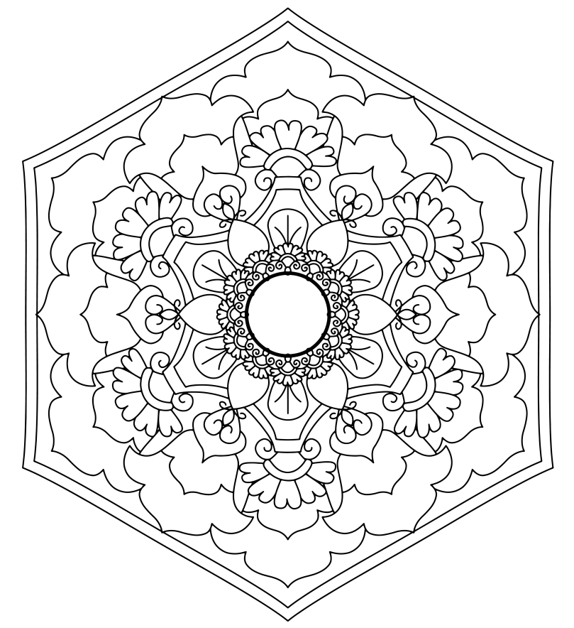Mandala Monday 11 - Free Download To Colour In