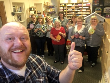 All Counties Craft Challenge Diary - Dumfries 6