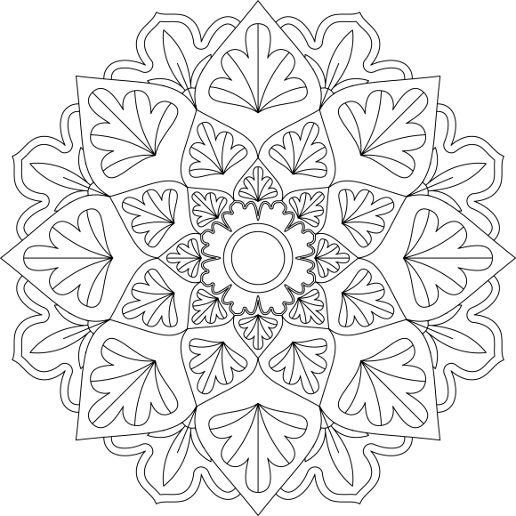 Mandala Monday 19 Free Design To Download And Colour In
