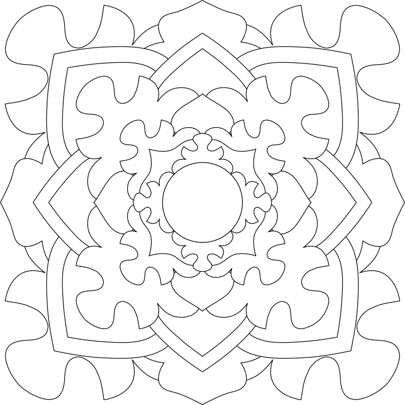Mandala Monday 20 - Free Download To Colour In
