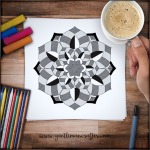 Mandala Monday 21 - Free Download To Colour In