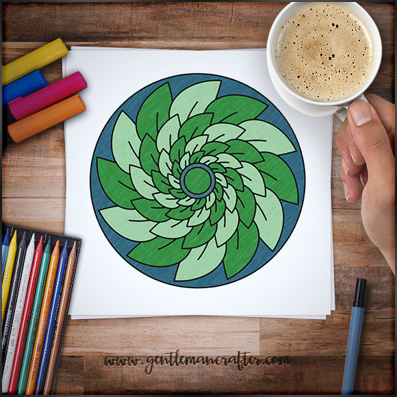 Mandala Monday 22 - Free Download To Colour In