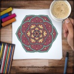 Mandala Monday 24 - Free Download To Colour In