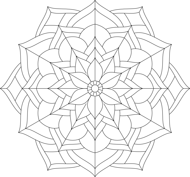 Mandala Monday 25 - Free Download To Colour In