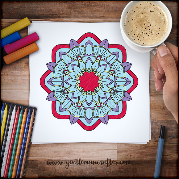 Mandala Monday 26 - Free Download To Colour In