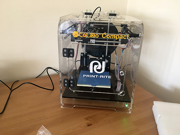 My First 3d Print with the Print Rite CoLiDo Compact 6