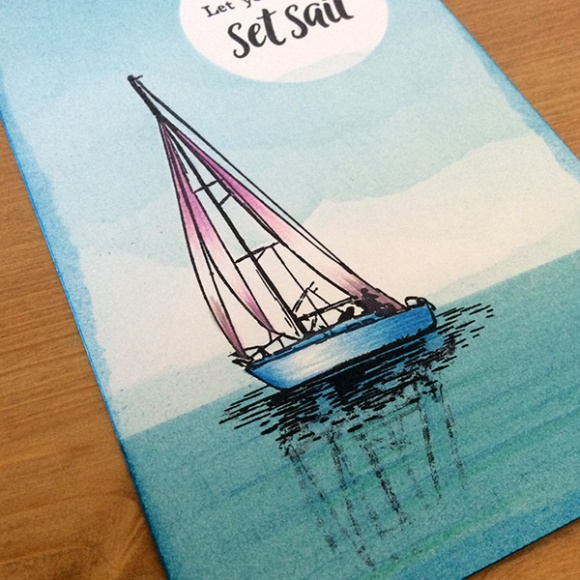 Stamp It Sunday 2 - Set Sail - 16