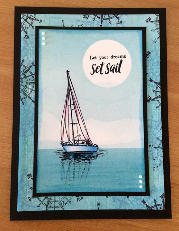 Stamp It Sunday 2 - Set Sail - 25