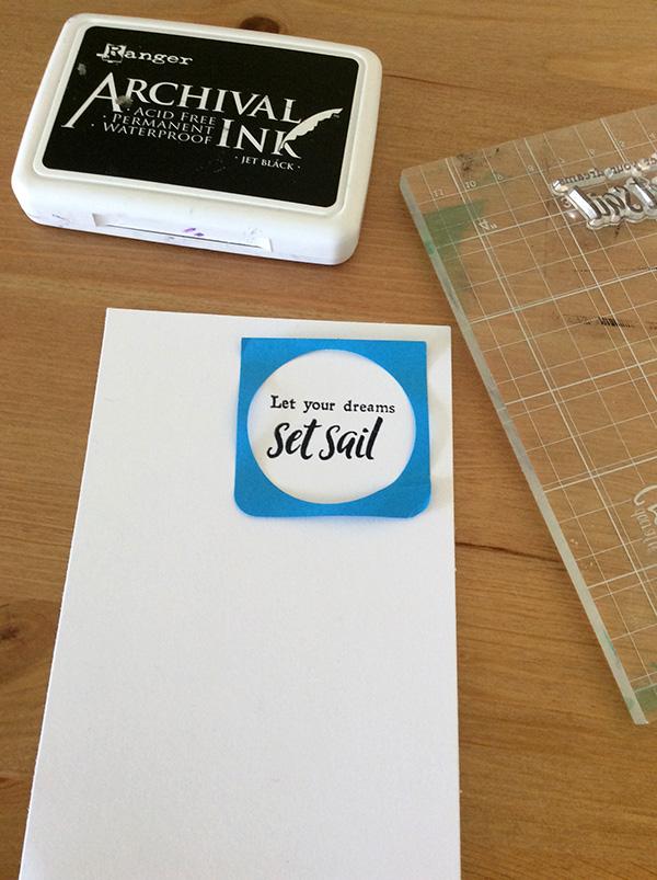 Stamp It Sunday 2 - Set Sail - 3