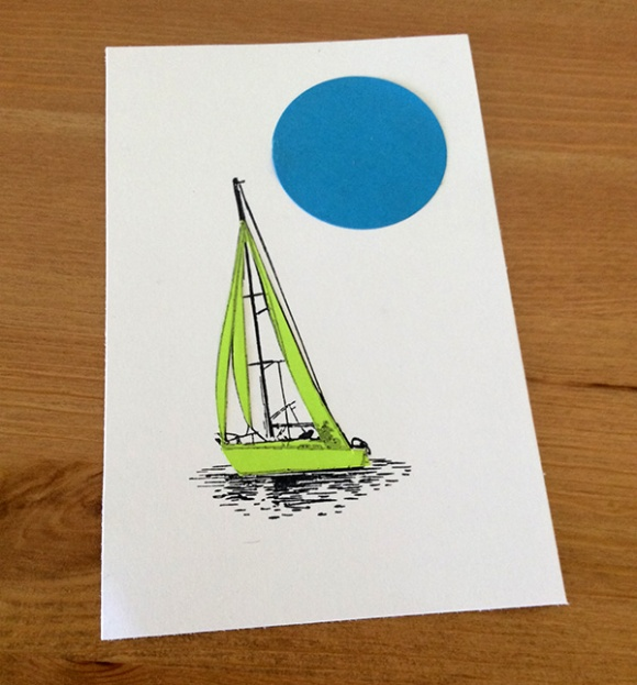 Stamp It Sunday 2 - Set Sail - 6