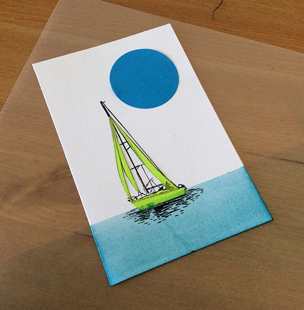Stamp It Sunday 2 - Set Sail - 9