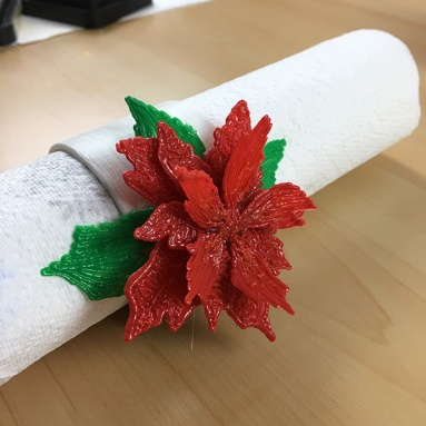 3D Thursday 8 Napkin Ring Made with CoLiDo 3D Printer and Pen (3)