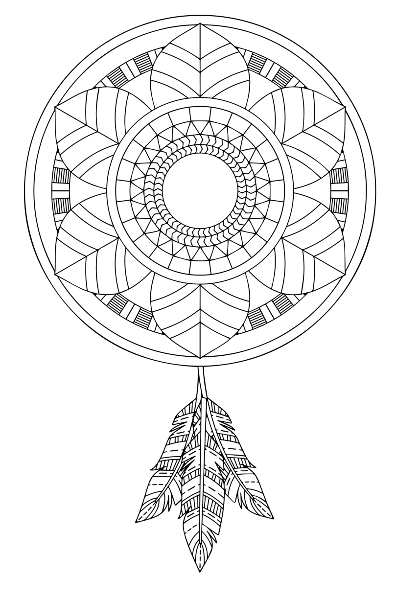 Mandala Monday 28 - Free Download To Colour In