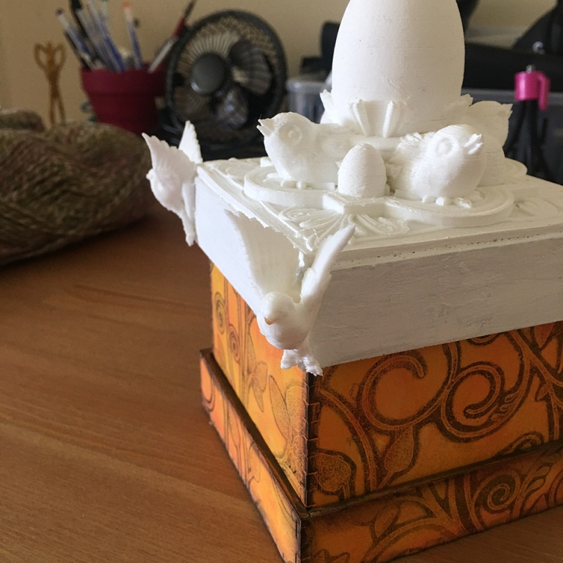 3d Printed Box Top Using CoLiDo 3d Printer (11)