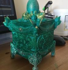 3d Printed Box Top Using CoLiDo 3d Printer (28)