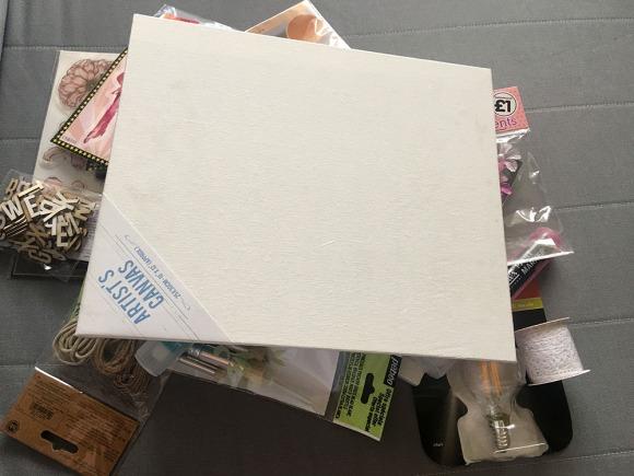 Be Free Mixed Media Canvas Creation (5)