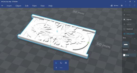 3d Printed Box Top Using CoLiDo 3d Printer (11)