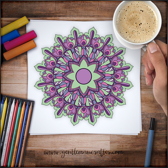 Mandala Monday 33 Free Download To Colour In