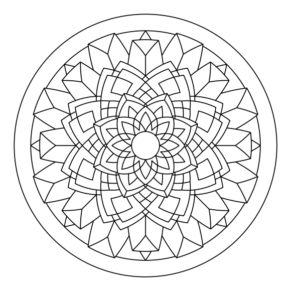 Mandala Monday 34 Free Colouring In Design To Download And Colour