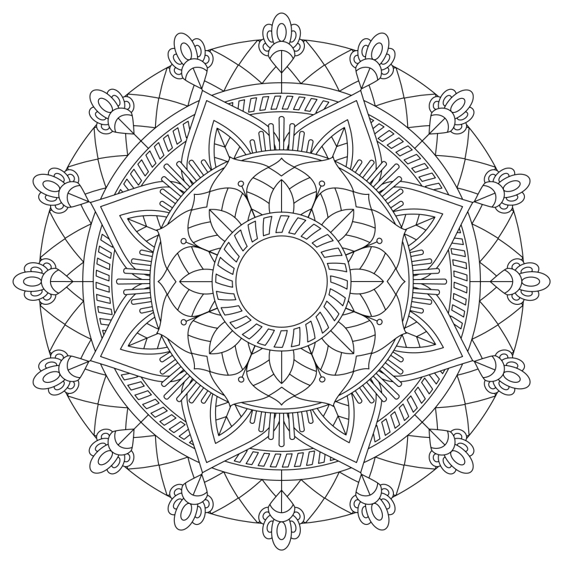 Mandala Monday 35 Free Colouring In Sheet To Download And Colour