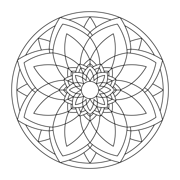 Mandala Monday 36 Free Colouring In Design To Colour In